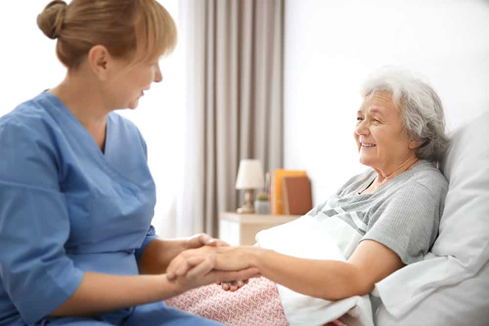 Caring for a person at the end of life